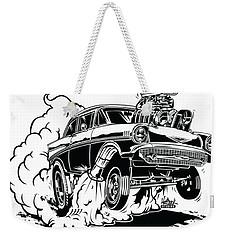 '57 Gasser Cartoon Weekender Tote Bag