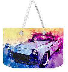 57 Thunderbird Watercolour Weekender Tote Bag