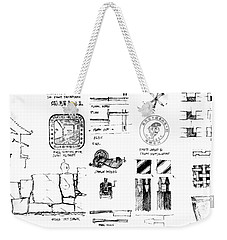 5.8.japan-2-detail-a Weekender Tote Bag