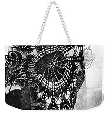 With Pleasure Is Driving You Out The Sky Bliss Weekender Tote Bag