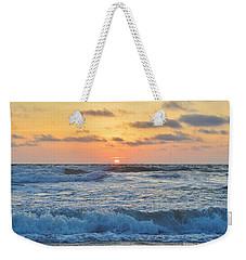 6/26 Obx Sunrise Weekender Tote Bag