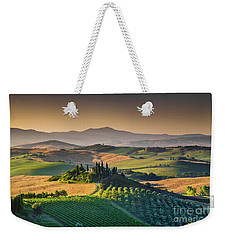 A Morning In Tuscany Weekender Tote Bag