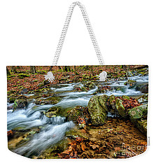 Weekender Tote Bag featuring the photograph Aldrich Branch Monongahela National Forest by Thomas R Fletcher