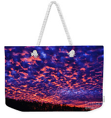 Weekender Tote Bag featuring the photograph Appalachian Sunset Afterglow by Thomas R Fletcher