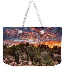 Arizona Sunset Weekender Tote Bag