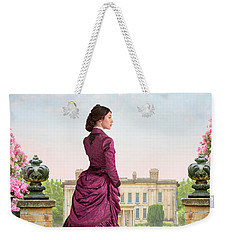 Beautiful Victorian Woman Weekender Tote Bag