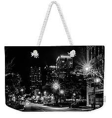 Birmingham Alabama Evening Skyline Weekender Tote Bag