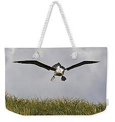 Black-browed Albatross Weekender Tote Bag by Jean-Louis Klein & Marie-Luce Hubert