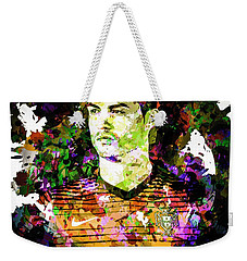 Cristiano Ronaldo Weekender Tote Bag by Svelby Art