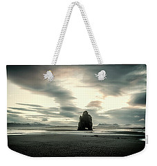 Dinosaur Rock Beach In Iceland Weekender Tote Bag