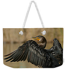 Weekender Tote Bag featuring the photograph Drying Out by Fraida Gutovich