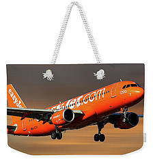 Easyjet 200th Airbus Livery Airbus A320-214 Weekender Tote Bag