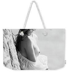 Girl In White Dress Weekender Tote Bag