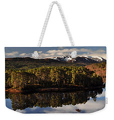 Weekender Tote Bag featuring the photograph Glen Affric by Gavin Macrae