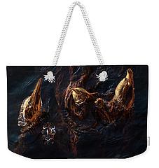 Ice Art Weekender Tote Bag