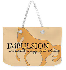 Impulsion Weekender Tote Bag