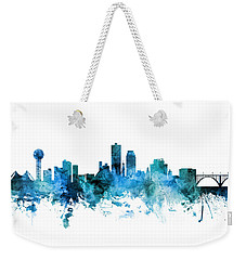 Knoxville Tennessee Skyline Weekender Tote Bag