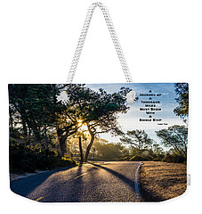 Lao Tzu Quote Weekender Tote Bag