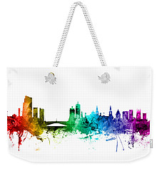 Leeds England Skyline Weekender Tote Bag