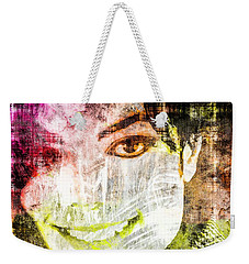Michael Jackson Weekender Tote Bag by Svelby Art