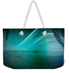 6 Month Exposure Of Eastbourne Pier Weekender Tote Bag