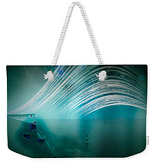 6 Month Exposure Overlooking The Beachy Head Lighthouse Weekender Tote Bag