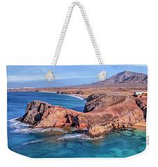 Playa Papagayo - Lanzarote Weekender Tote Bag