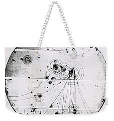 Proton-photon Collision Weekender Tote Bag