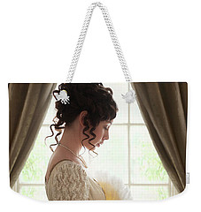 Regency Woman At The Window Weekender Tote Bag