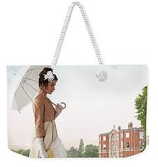 Regency Woman Weekender Tote Bag by Lee Avison
