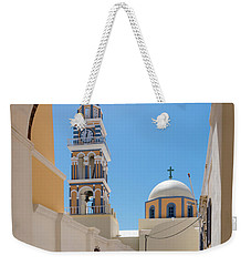 Santorini - Greece Weekender Tote Bag