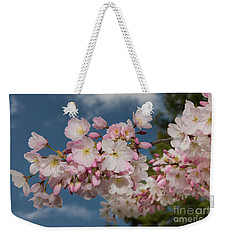 Silicon Valley Cherry Blossoms Weekender Tote Bag by Glenn Franco Simmons