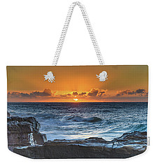 Sunrise Seascape With Sun Weekender Tote Bag