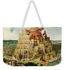 The Tower Of Babel  Weekender Tote Bag