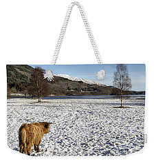 Trossachs Scenery In Scotland Weekender Tote Bag
