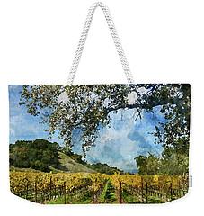 Vineyard In Napa Valley California Weekender Tote Bag