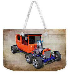 6 Wheels Weekender Tote Bag by Keith Hawley