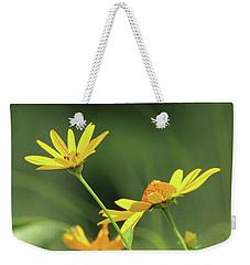 Wild Sunflower Stony Brook New York  Weekender Tote Bag by Bob Savage