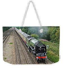 60163 Tornado At Tupton Weekender Tote Bag