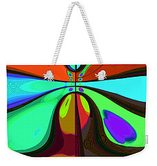 60s Free Love Weekender Tote Bag