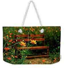 Galsang Flowers In Garden Weekender Tote Bag