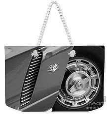 Weekender Tote Bag featuring the photograph '62 In Black And White by Dennis Hedberg