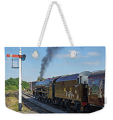 6201 Princess Elizabeth At Swanwick Station Weekender Tote Bag