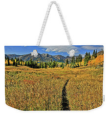 Rocky Mountain Fall Weekender Tote Bag
