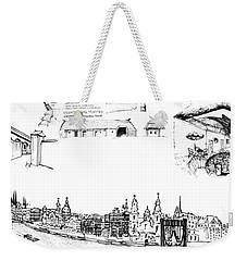 6.50.hungary-5-detail-f Weekender Tote Bag