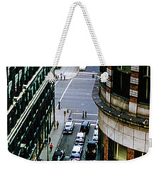 Weekender Tote Bag featuring the photograph 6th And Superior - Cleveland by Samuel M Purvis III