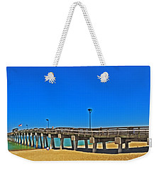 6x1 Venice Florida Beach Pier Weekender Tote Bag