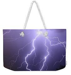 7-28-16 Monsoons  Weekender Tote Bag by Elaine Malott