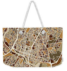 Austin Texas City Map Weekender Tote Bag