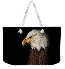 Bald Eagle  Weekender Tote Bag by Brian Cross